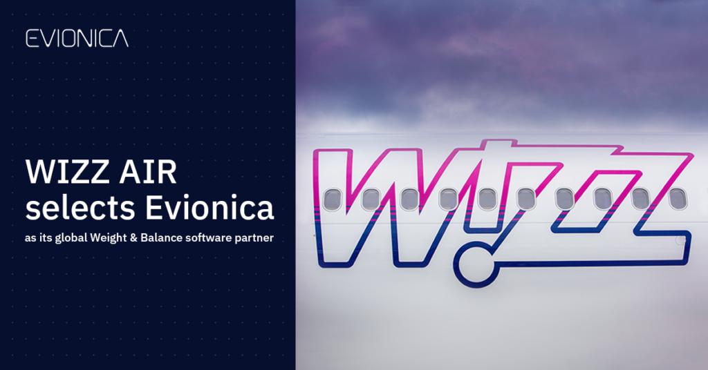 Wizz Air Weight & Balance software partner Evionica
