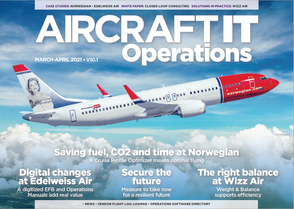 AircraftIT Operations cover March 2021